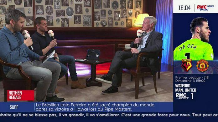 Rothen régale avec Didier Deschamps
