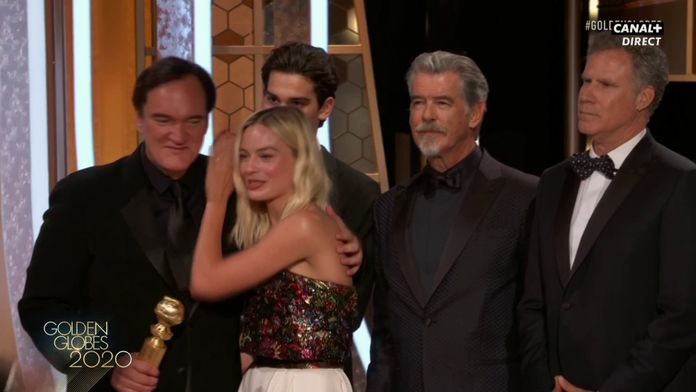 Once Upon A Time In Hollywood - Meilleur Film Comédie/Musical - Golden Globes 2020