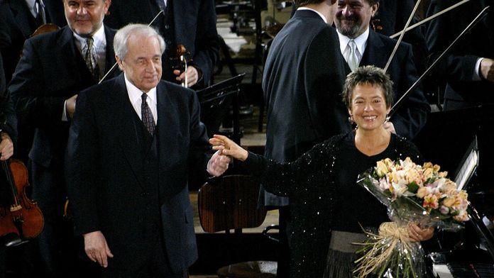 Pierre Boulez dirige Mozart, Ravel, Bartók et Debussy, avec Maria João Pires