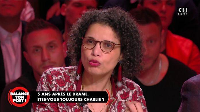 Fatiha Boudjahlat, enseignante et essayiste assume le fait d'être Charlie 5 ans après les attentats