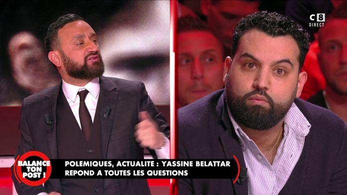 """""""Est-ce que vous êtes Charlie ?"""" Cyril Hanouna  pose la question à Yassine Belattar"""