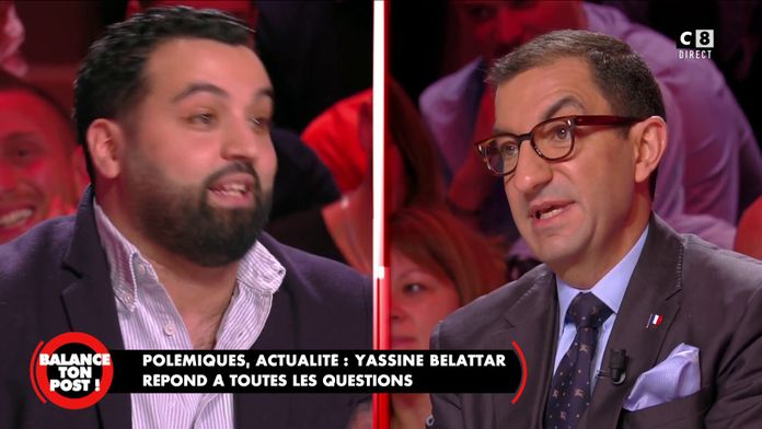 Yassine Belattar face à Jean Messiha