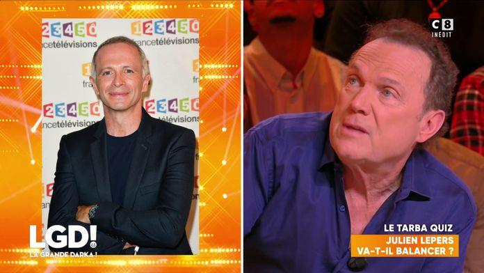 Julien Lepers va-t-il balancer sur les autres animateurs télé ?