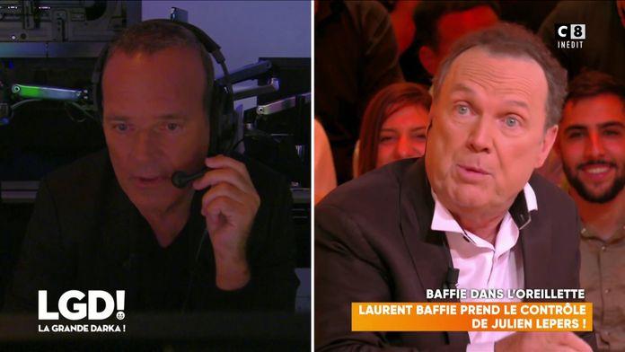 Laurent Baffie prend le contrôle de Julien Lepers
