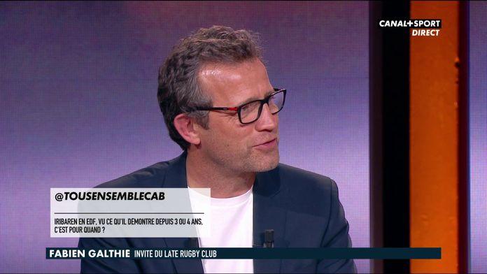 Fabien Galthié répond aux questions des abonnés