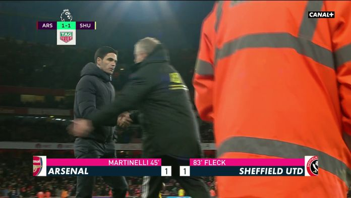 Résumé d'Arsenal - Sheffield United