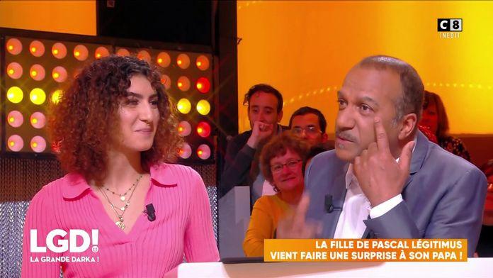 Pascal Légitimus ému aux larmes face à sa fille