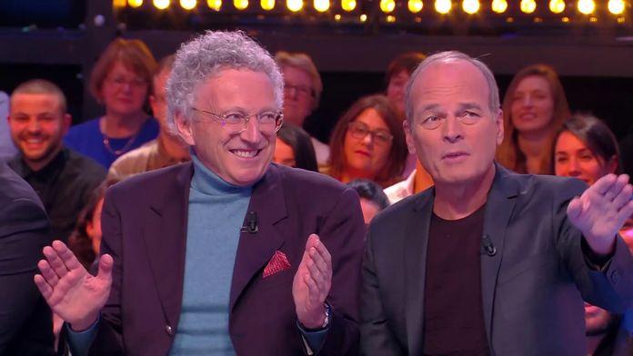 Face à face darka entre Laurent Baffie et Nelson Monfort