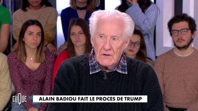 Alain Badiou : Il fait le procès de Trump