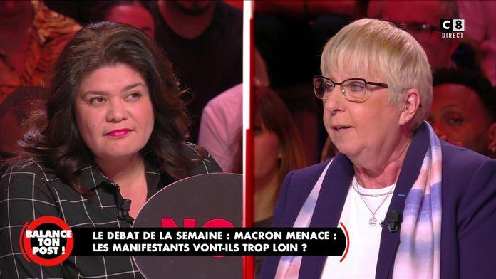 """Claire O'Petit, députée LAREM à Raquel Garrido : """"Vous incitez la haine"""""""