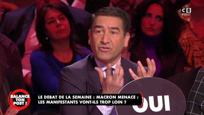 """Karim Zeribi : """"On m'a appris un syndicalisme de lutte et non de violence"""""""