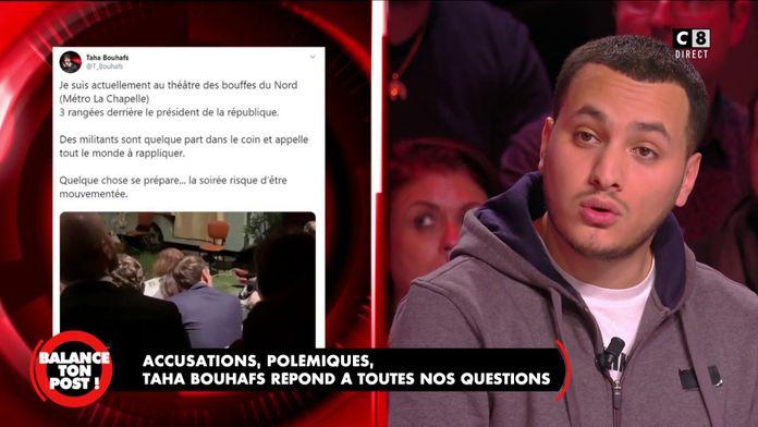 Taha Bouhafs accusé d'avoir déclenché les manifestations au Théâtre des Bouffes du Nord témoigne