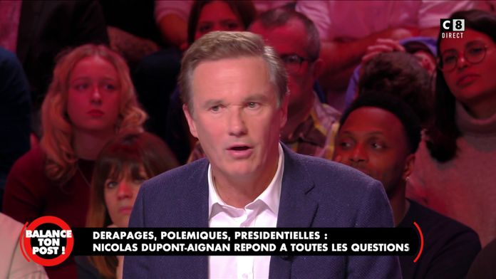 """Nicolas Dupont-Aignan : """"J'aimerais croire en Marine Le Pen mais je doute de sa victoire"""""""