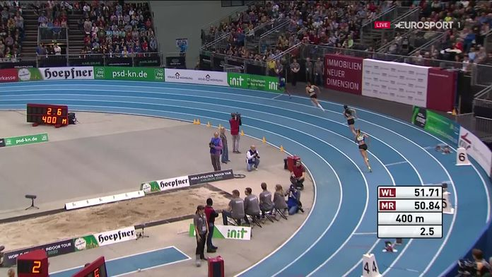 Athlétisme - Meeting indoor de Karlsruhe 2020