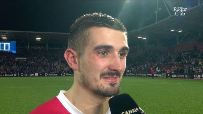 La réaction de Thomas Ramos après Stade Toulousain / Bordeaux