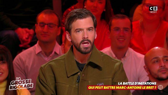 Quand Marc-Antoine Le Bret imite Emmanuel Macron