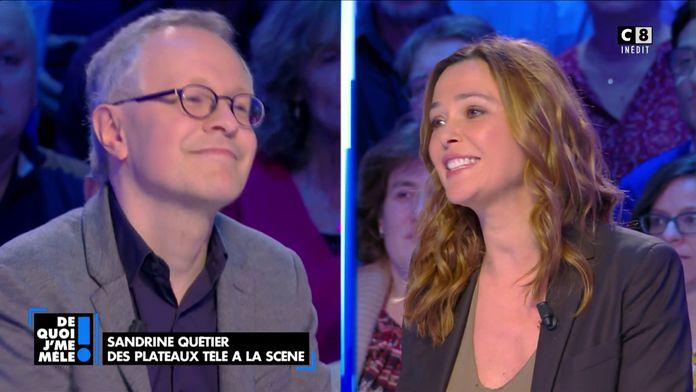Sandrine Quétier : Des plateaux télé à la scène