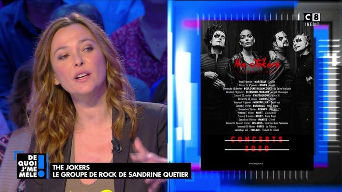 Sandrine Quétier revient sur sa passion pour la musique