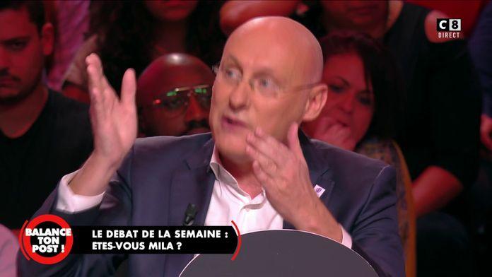 """Bernard Laporte à propos de l'affaire Mila : """"Cette fille n'a aucune éducation !"""""""