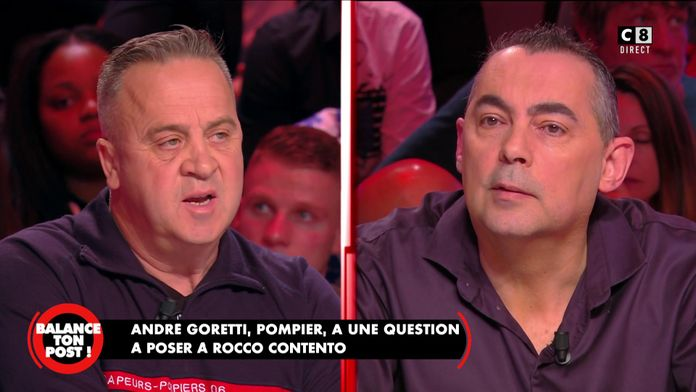 André Goretti, pompier face à Rocco Contento, policier reviennent sur les manifestations violentes