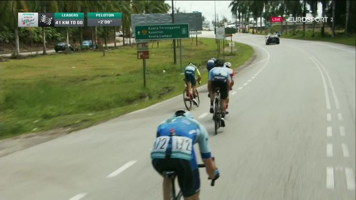 1re étape : Kuching - Kuching (96,2 km)