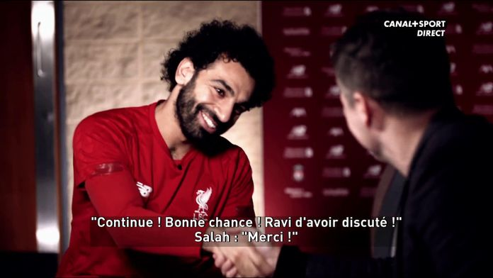 Mo Salah interviewé par Michael Owen