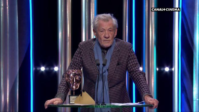 Ian Mckellen rend hommage à Andy Serkis - BAFTAs 2020