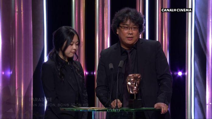 Parasite reçoit le prix du meilleur scénario original - BAFTAs 2020