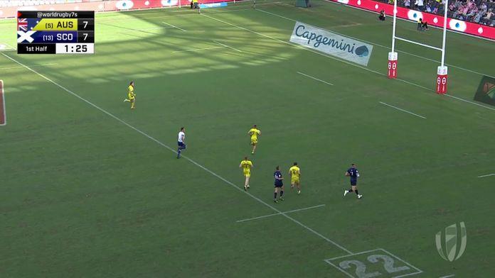 Rugby à 7 - Le Top 3 des essais du HSBC World Series à Sydney