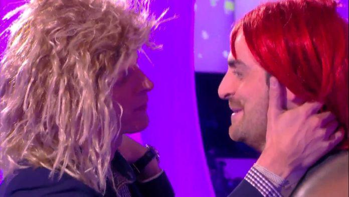 """Matthieu Delormeau et Camille Combal parodiaient """"Les Feux de l'Amour"""""""