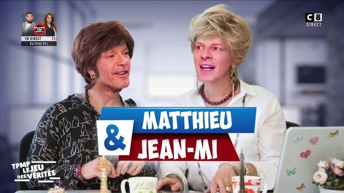 Les commères Jean-Michel Maire et Matthieu Delormeau !