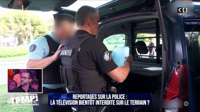 Reportage sur la police : La télévision bientôt interdite sur le terrain ?