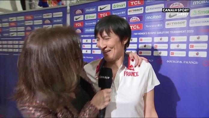 """Valérie Garnier : """"Tellement fière de cette équipe"""" : France / Brésil"""
