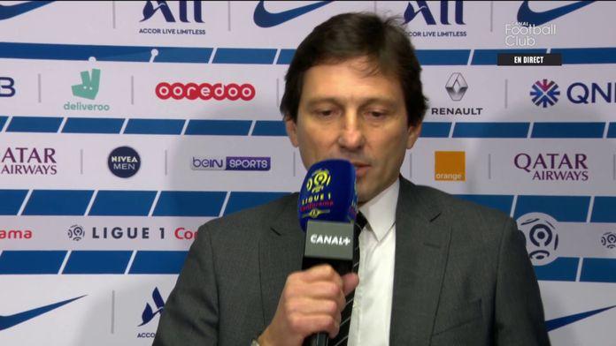 La réaction exceptionnelle de Leonardo après PSG / OL : Canal Football Club