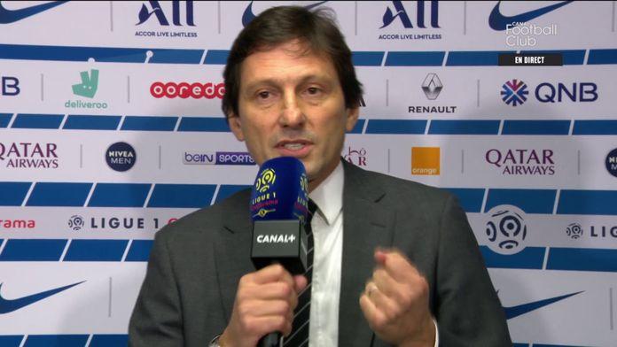 Leonardo heureux de la qualité de l'effectif parisien : Canal Football Club