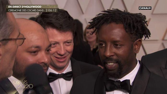 """L'équipe du film Les Misérables """"On est fier de représenter la France"""" - Oscars 2020"""