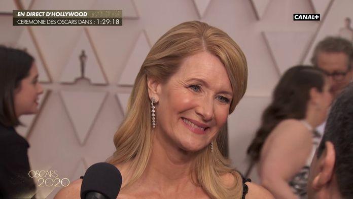 """Laura Dern : """"Ces deux rôles tout à fait différents sont un cadeau"""" - Oscars 2020"""