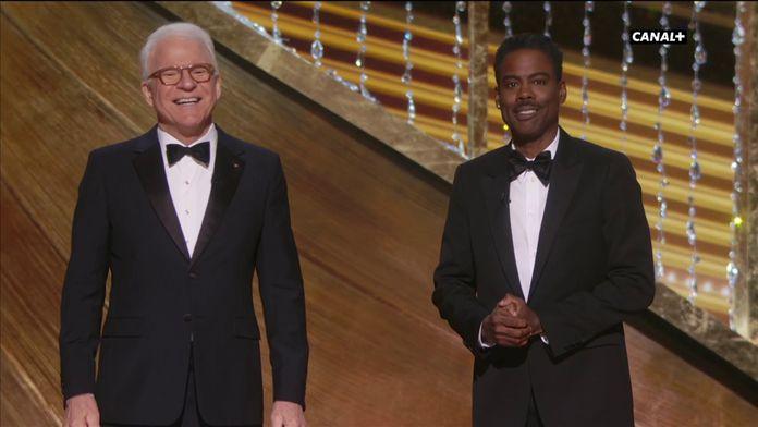 """Steve Martin et Chris Rock: """"Il ne manquerait pas quelque chose ce soir ? Des vagins?"""" - Oscars 2020"""