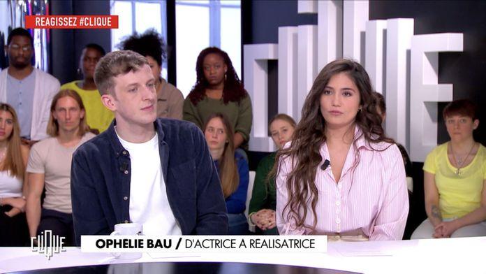 Clique avec  Édouard Louis  et Ophélie Bau