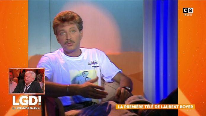 La première apparition télé de Laurent Boyer