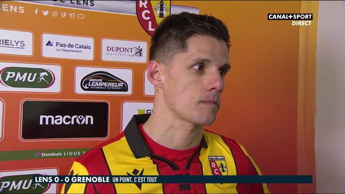 Florian Sotoca après Lens / Grenoble : Late Football Club