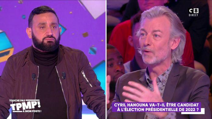 Les chroniqueurs votent pour que Cyril Hanouna se présente aux élections présidentielles de 2022
