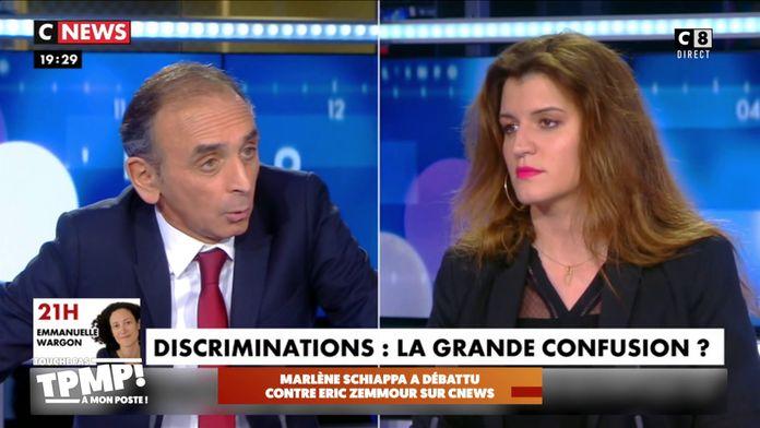 Marlène Schiappa a débattu contre Eric Zemmour sur CNEWS