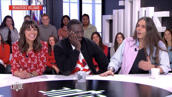 Clique avec Omar Sy, Bérénice Bejo et Aurélien Barrau