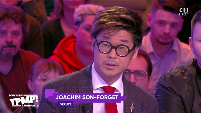 Joachim Son-Forget annonce sa candidature aux présidentielles de 2022 en direct dans TPMP