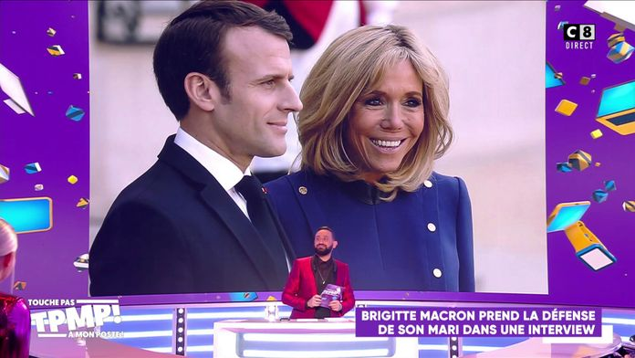 Brigitte Macron prend la défense de son mari sur RTL