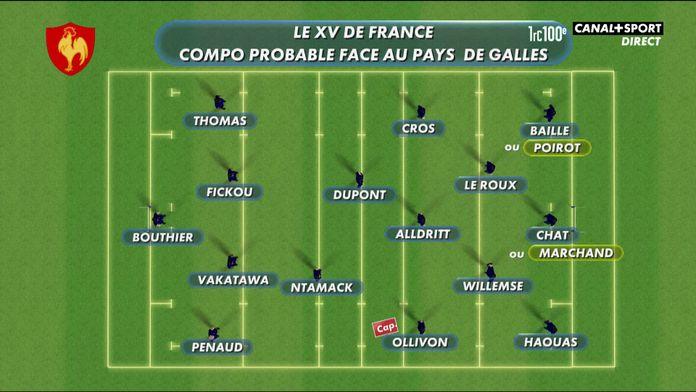 France / Pays de Galles : une composition sans changement ? : Late Rugby Club