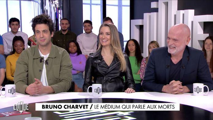Clique avec Max Boublil,  Diane Ducret et Bruno Charvet