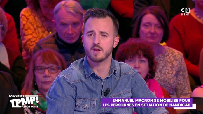 Handicap : Emmanuel Macron annonce de mesures, Roro le Costaud réagit