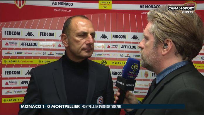 La réaction de Michel Der Zakarian après Monaco / Montpellier : Late Football Club